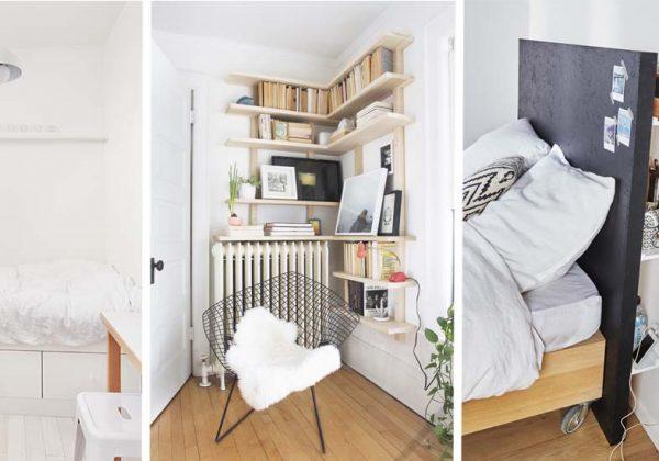 4 petites idées de chambre à coucher pour tirer le meilleur ...
